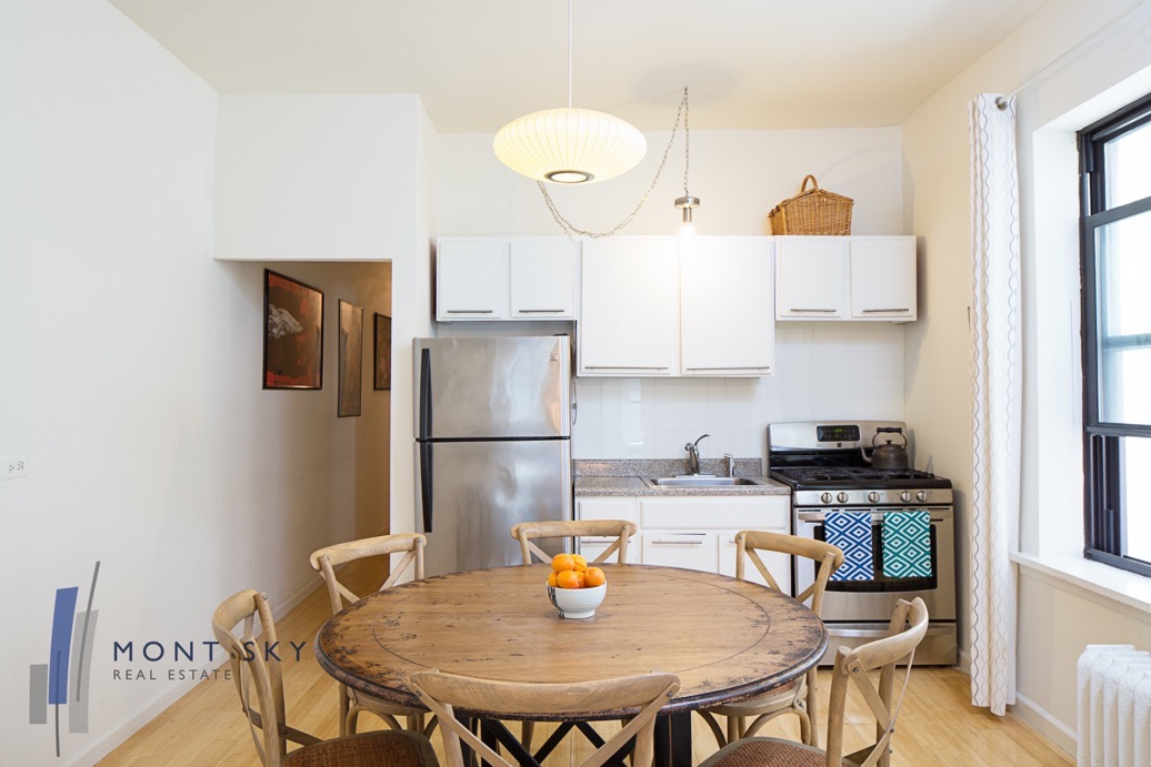 58 West 105th Street Apartment 4B listed by Mont Sky Real Estate NYC.